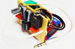 cmoy ενισχυτής ακουστικών