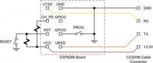 esp8266 breakout schematic