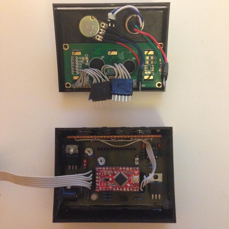 soldering station interior