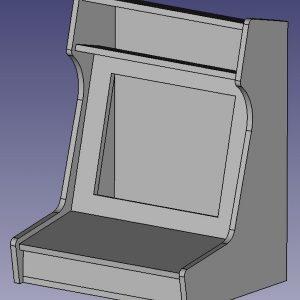 arcade-3d-model