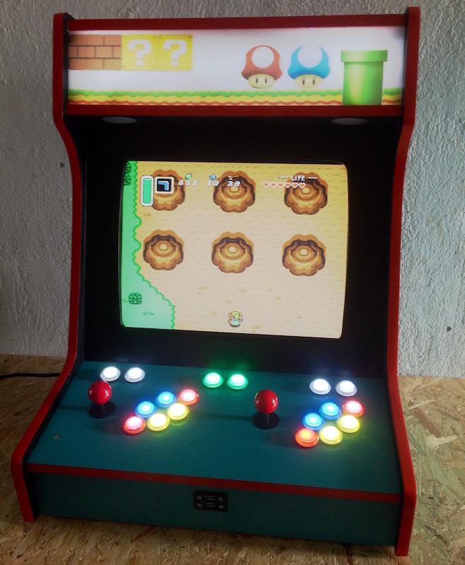 Arcade Machine - HackerMagnet