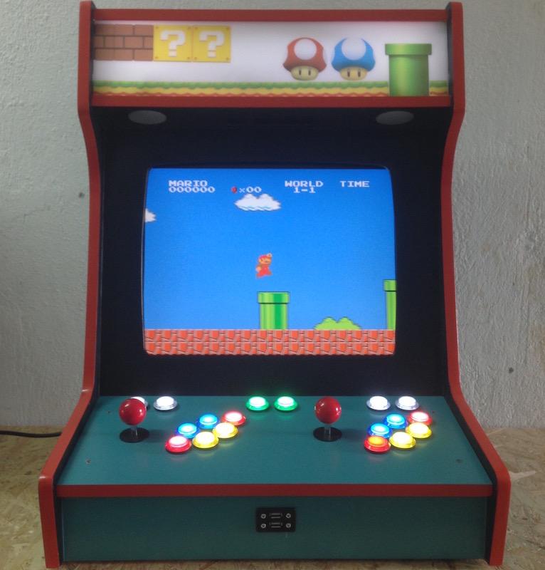 Arcade Machine Hackermagnet