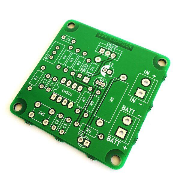 12V lead acid battery charger LM338
